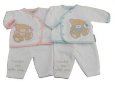 BNWT Tiny Premature Preemie Baby Teddy 2 piece outfit set clothes 5-8lb Newborn