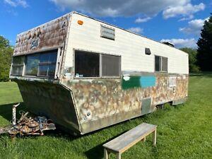 RARE Vintage 22' Shasta Stratoflyte camper trailer PROJECT