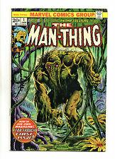 Man-Thing Vol 1 No 1 Jan 1974 (VFN+) 2nd app of Howard the Duck, Bronze Age