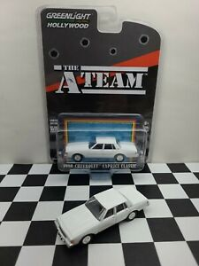 1980 CHEVEROLET CAPRICE CLASSIC 1/64 scale CAR Greenlight Chevy A TEAM DEMODERBY