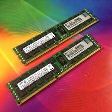 16GB 2x 8GB DDR3-1333 SAMSUNG 2Rx4 PC3L-10600R RAM Server ECC Reg Registered