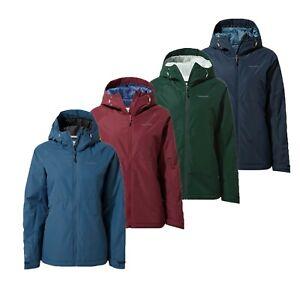 Craghopers Womens Aurora Waterproof Breathable Padded Winter Jacket  RRP £100
