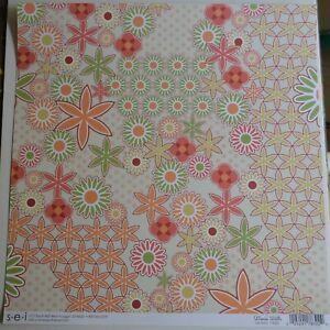 U-choose (1) 12x12 Boho designer papers--sei, Cloud9, We R Memory, Basic Grey