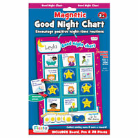 Good Night Chart - Magnetic Set - Fun daily educational activity