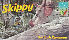 2020 Australian Skippy The Bush Kangaroo 50c Coin PNC - Stamp and Coin Cover