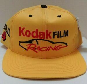 Vintage Sterling Marlin Kodak Film Racing 1997 Checkered Flag Sports Hat # 4