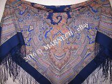 1290-14 Magic design- Womens Merino Woolen Shawl Scarf Pavlovo Posad Winter Wrap