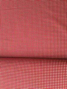 cotton 100% poplin red gingham print, school uniforms, scrunches, masks