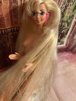 Glitter Hair Barbie Blonde Long Hair! 1993 Mattel Vintage Excellent Preowned!🌹