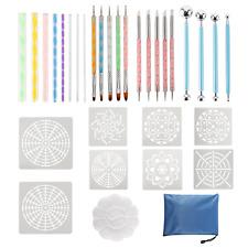 32Pcs Mandala Dotting Tools Set Painting Rocks, Coloring Drawing, Kids'Craft