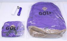 Golf Wang Tyler The Creator Backpack w/ Fanny Pack and Flashlight - Purple - NEW
