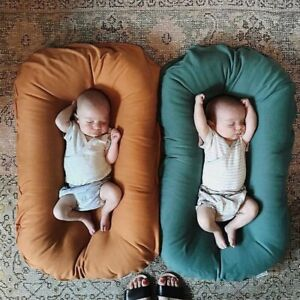 Infant Newborn Baby Lounger Portable Baby Nest Bed for Girls Boy Sleeper Nursery