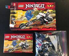 Lego ninjago #2259 Skull Motorbike 100% complete with directions + box