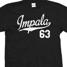 Impala 63 Script Tail T-Shirt - 1963 Lowrider Classic Tee - All Sizes & Colors