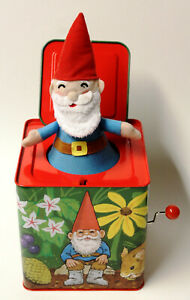 Gnomes Jack-in-the-Box Rare made by Schylling