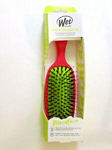 Wet Brush SHINE ENHANCER Detangling Intelliflex Natural Boar Bristles Hair Brush