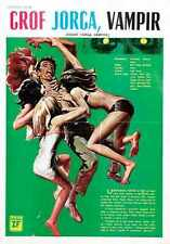 Count Yorga Vampire Poster 03 Metal Sign A4 12x8 Aluminium