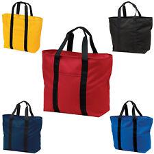 "Blue Mini Market Storage Tote 12"" x 9"" x 7"" Arts Crafts Knitting -E0182"