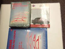 1991 Nissan Sentra & NX COUPE Service Repair Shop Workshop Manual Set W EWD + Bu