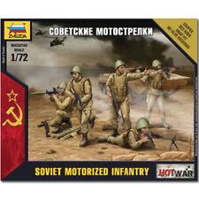Zvezda 7404 soviétique infanterie motorisée snap fit modèle kit 1/72 ème 04899 Revell hotwar
