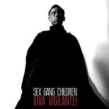 SEX GANG CHILDREN - Viva Vigilante! (2013) - BRAND NEW CD goth deathrock sexgang