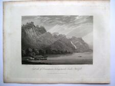 East side of Derwentwater looking towards Lowdore... (published Sept 15th, 1815)