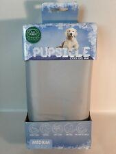 "Pupsicle Cool Gel Pad Grey Medium 20""x16"" Pressure Activated Cooling NIB"