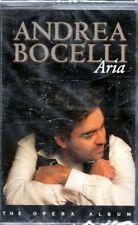 ANDREA BOCELLI - ARIA - MC K7 MUSICASSETTA NUOVA SIGILLATA  RARA