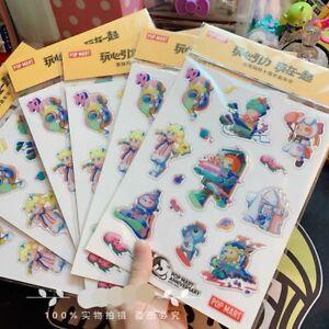 Pop Mart 10th Anniversary Jelly Sticker Single Sheet
