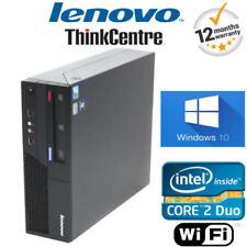 PCs de sobremesa y todo en uno Lenovo con 120 GB o más de disco duro