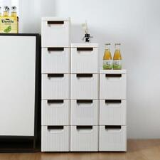 Rolling Storage Unit with Drawers Organizer Cabinet Box Waterproof Utility Cart