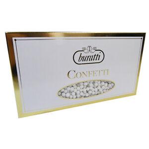 Mimosette Confetti Buratti Colorati Bianco