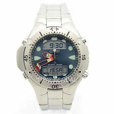 Citizen JP1060-52L Men ProMaster Divers Solid Metallic Blue Designed Dial Watch
