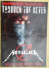 Metal Hammer Metallica: Through The Never 16 Page Supplement Magazine