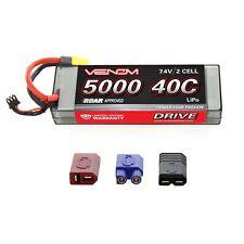 Venom LiPo Battery : Traxxas Stampede 4x4 VXL 40C 7.4V 5000mAh 2S with UNI Plug
