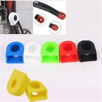 1 Pair Bike Crank Arm End Crank Set Cover Cap Silicone for Road MTB Bike Bicycle