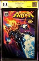 MARVEL Comic COSMIC GHOST RIDER #1 CGC SS 9.8 Campbell SDCC GLOW IN DARK Variant