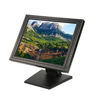 17 Inch Touch Screen LCD Monitor 1280x1024 Resolution VGA USB 800:1 For PC POS