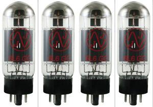 JJ/Tesla matched quad 6L6GC powertubes.6L6 GC to suit Fender Twin Bassman etc