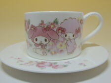 My Melody Lizmelo cup & Saucer Kuji prize JAPAN Brand-new 2015 rare Sanrio