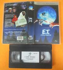 VHS film E.T. ET L'EXTRA-TERRESTRE 2002 SPECIAL EDITION Spielberg (F176) no dvd