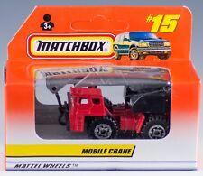 Matchbox MB 15 International Mobile Crane Red 1998 NEW in Box