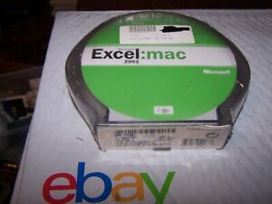 Microsoft Excel 2001 Upgrade for Macintosh - CD