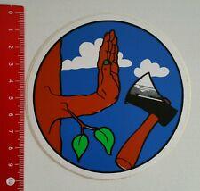 Aufkleber/Sticker: Holz - Axt (060716188)