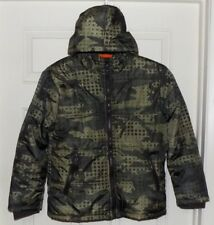 New Boys Camo Hooded Coat XS (4-5) Athletech Built to Last Performance Outerwear
