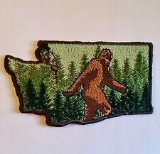 "*2 "" h Bigfoot Washington State Embroidered Patch Embellishment Iron on & Sew*"