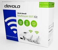 Devolo Multiroom WiFi Kit Powerline WLAN Network Kit 500MBit/s - Neu & OVP
