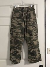 Camo Hunting Pants Youth M 10-12