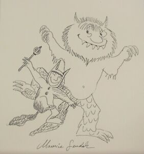 Max, Where the wild things are, drawing, art, handmade, signed, Maurice,artwork