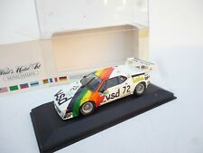1:43 MINICHAMPS BMW  M1  KAGER COLLECTION MEETING POINT SELTEN!!!!